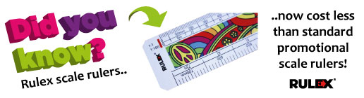 promotional rulex scale rulers