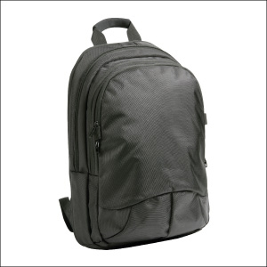 Polyester laptop backpack - Greenwich